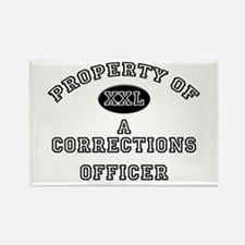 Property of a Corrections Officer Rectangle Magnet