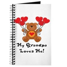 My Grandpa Loves Me! Journal