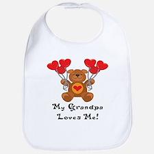 My Grandpa Loves Me! Bib