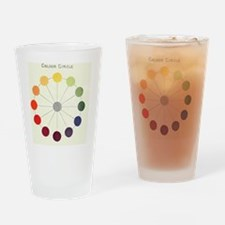 Cute Rainbow spectrum Drinking Glass