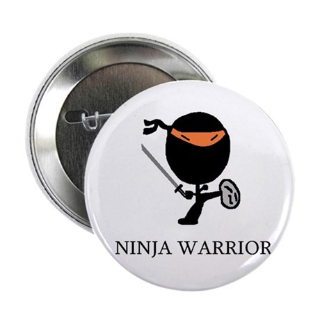 "Ninja Warrior 2.25"" Button (10 pack)"