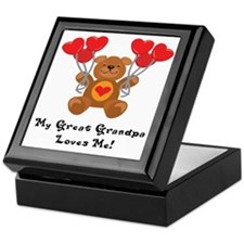 My Great Grandpa Loves Me! Keepsake Box