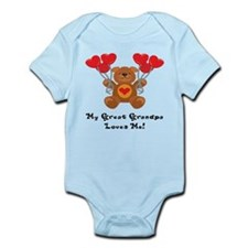 My Great Grandpa Loves Me! Infant Bodysuit