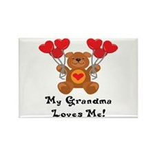 My Grandma Loves Me! Rectangle Magnet (10 pack)
