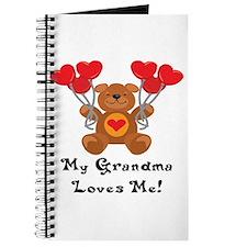 My Grandma Loves Me! Journal