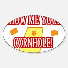 cornhole Decal