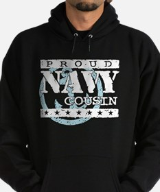 Unique Navy cousin Hoodie (dark)
