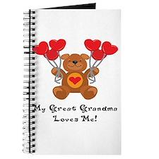 My Great Grandma Loves Me! Journal