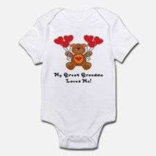 My Great Grandma Loves Me! Infant Bodysuit