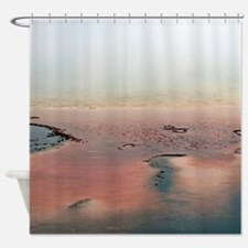 Pebbles And Steam Shower Curtain
