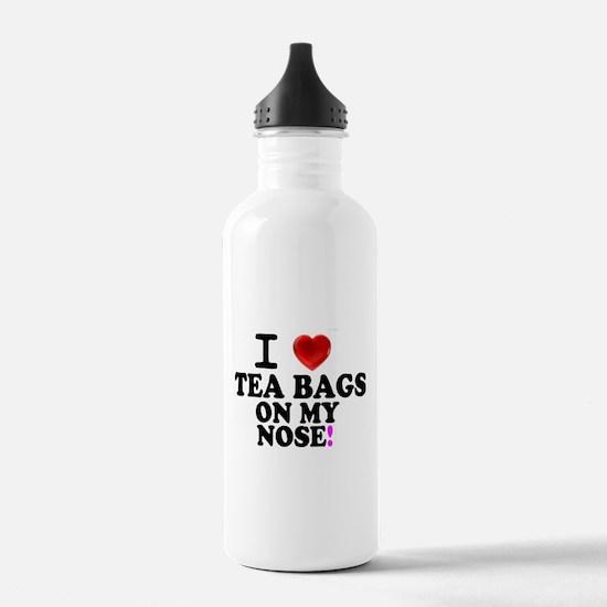 I LOVE TEA BAGS ON MY Water Bottle