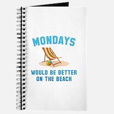 Mondays On The Beach Journal
