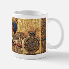 Tutankhamun Ankhesenamun Egypt Gold Mugs