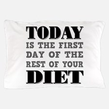 Diet Resolution Pillow Case