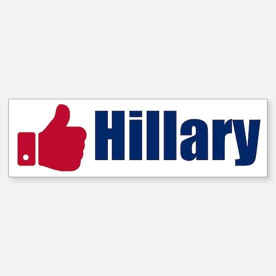Hillary Sticker (Bumper)