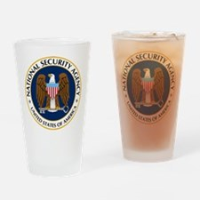 National Security Agency Drinking Glass