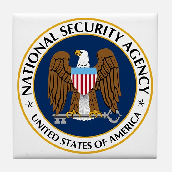 National Security Agency Tile Coaster