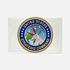 U S Strategic Command Logo Rectangle Magnets