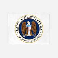 National Security Agency 5'x7'area Rug