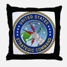 U S Strategic Command Logo Throw Pillow