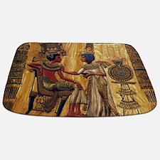 Tutankhamun Ankhesenamun Egypt Gold Bathmat
