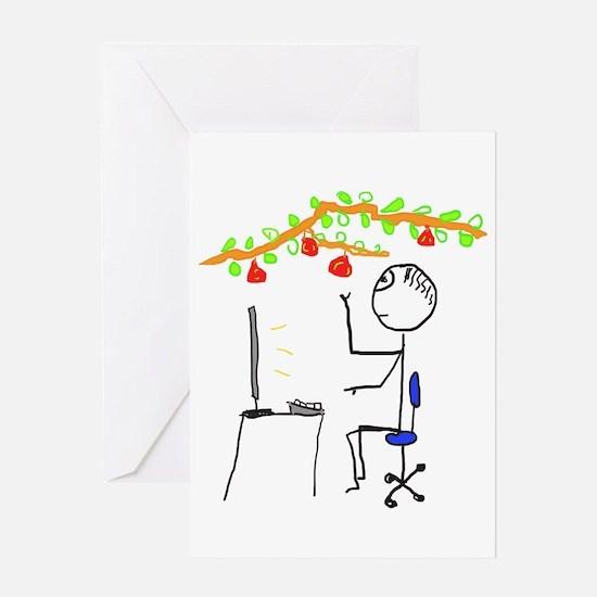 Low Hanging Fruit Greeting Cards