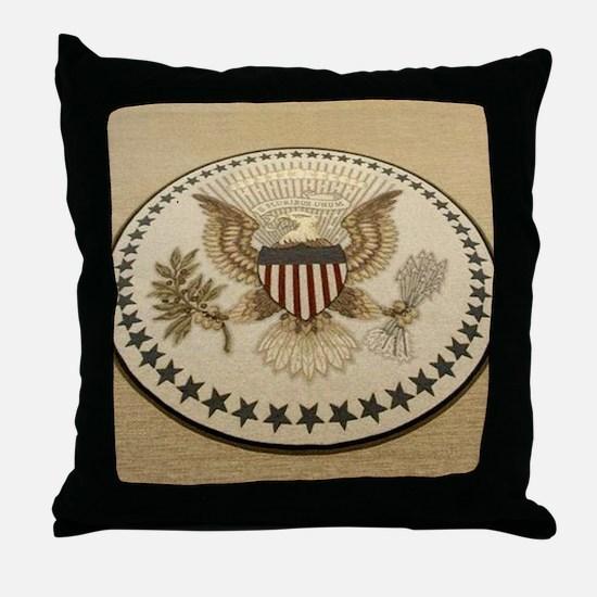 Unique President Throw Pillow