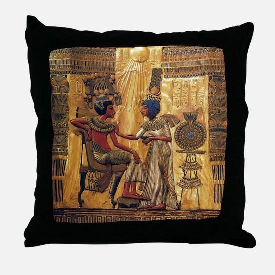 Cute Egypt flag Throw Pillow
