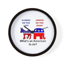 Cute Political Wall Clock