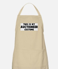 Auctioneer costume BBQ Apron