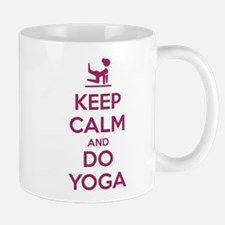 Keep Calm and do Yoga Mugs