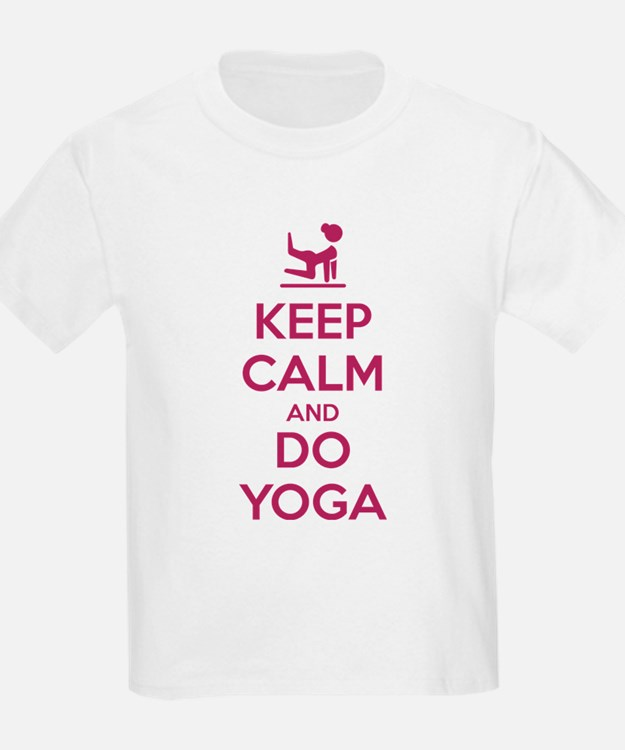 Keep Calm and do Yoga T-Shirt