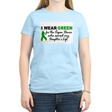 I Wear Green 2 (Saved My Daughter's Life) T-Shirt