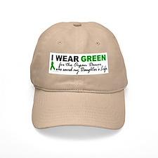 I Wear Green 2 (Saved My Daughter's Life) Baseball Cap