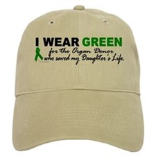 I Wear Green 2 (Saved My Daughter's Life) Hat