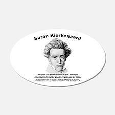 Kierkegaard Women Wall Decal