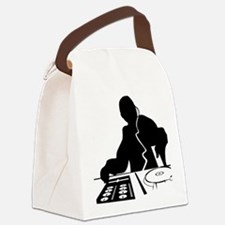 Unique Dj Canvas Lunch Bag