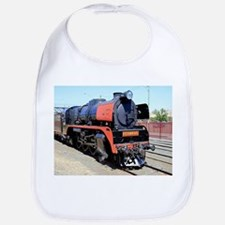 Steam train engine, Victoria, Australia Bib