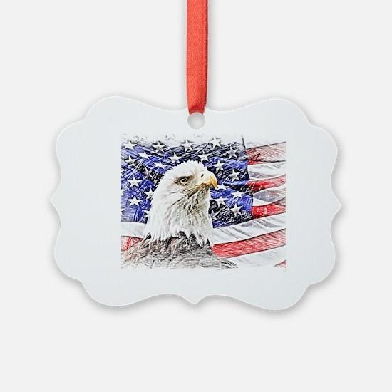 Funny Usa Ornament