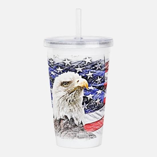 Freedom Acrylic Double-wall Tumbler