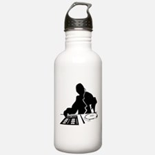 Dj Mixing Turntables C Water Bottle