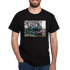 Steam train engine, Parkes, Australia T-Shirt