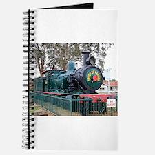 Steam train engine, Parkes, Australia Journal