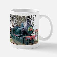 Steam train engine, Parkes, Australia Mugs