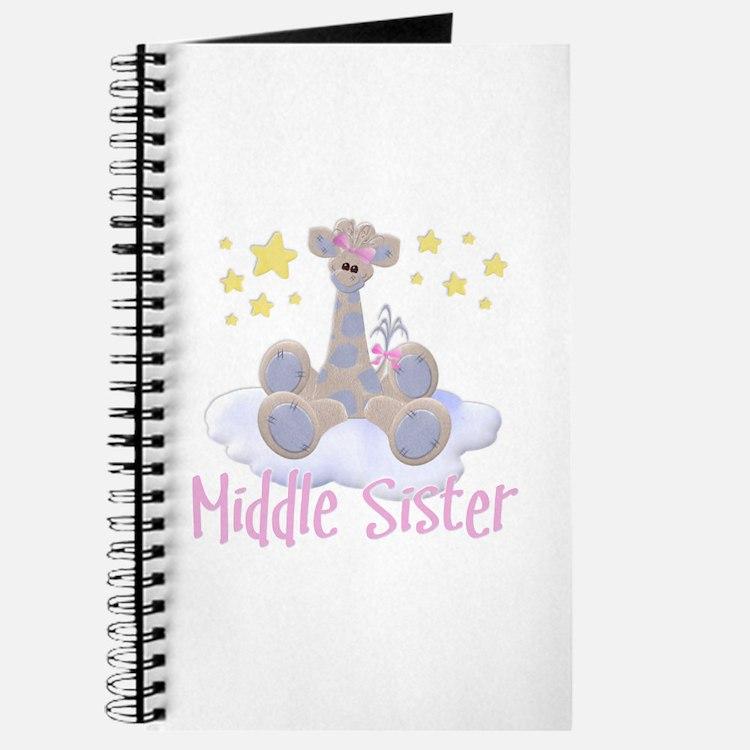 Giraffe Middle Sister Journal