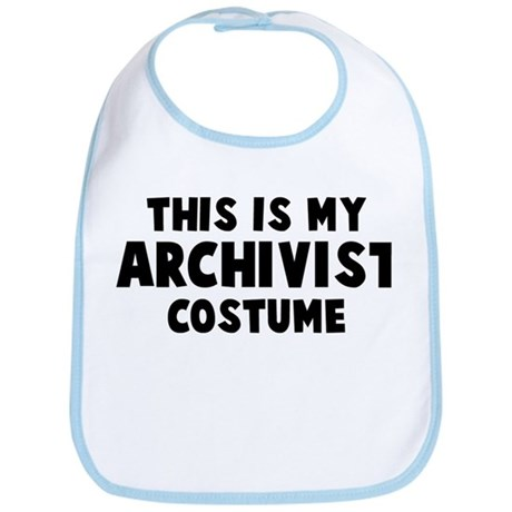 Archivist costume Bib