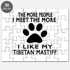 I Like More My Tibetan Mastiff Puzzle