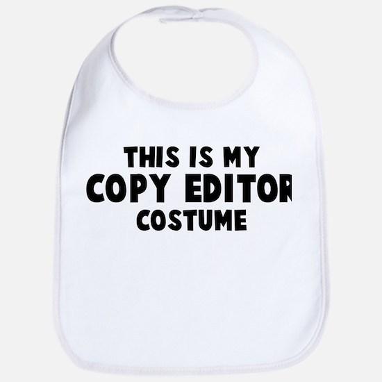 Copy Editor costume Bib