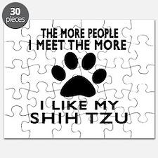 I Like More My Shih Tzu Puzzle