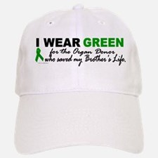 I Wear Green 2 (Saved My Brother's Life) Baseball Baseball Cap